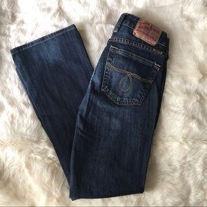 Lucky Brand Lola bootcut jeans, medium/dark, 2/26